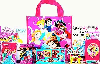 Amazon.com: Disney Princesa Colorear y actividad Set de ...