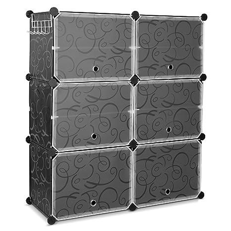 Amazoncom Homfa 10 Cube Shoe Rack Diy Cubes Storage Organizer