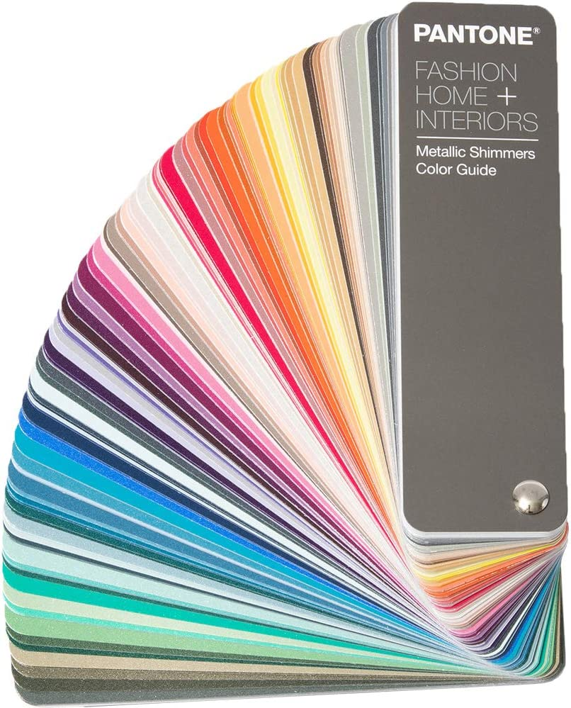 Pantone Metallic Shimmers Guide FHIP310N 315 New Colors Added, Latest Edition