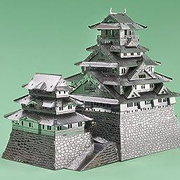 Amazon メタリックナノパズル プレミアムシリーズ 大阪城 立体パズル おもちゃ