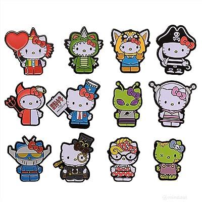Kidrobot Hello Kitty x Time to Shine Blind Box Enamel Pin - ONE PIN: Toys & Games