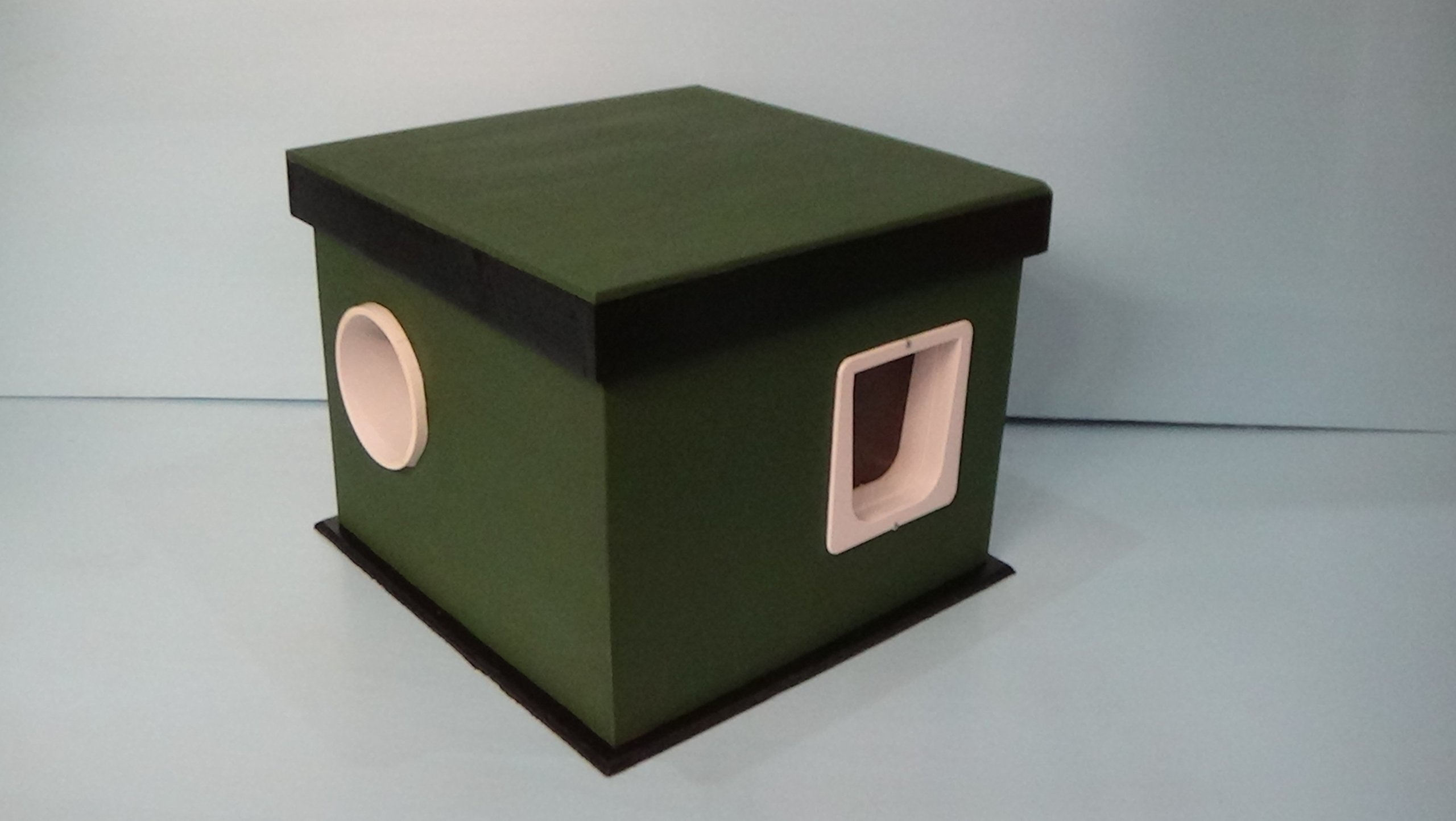 Heated Feral Cat House
