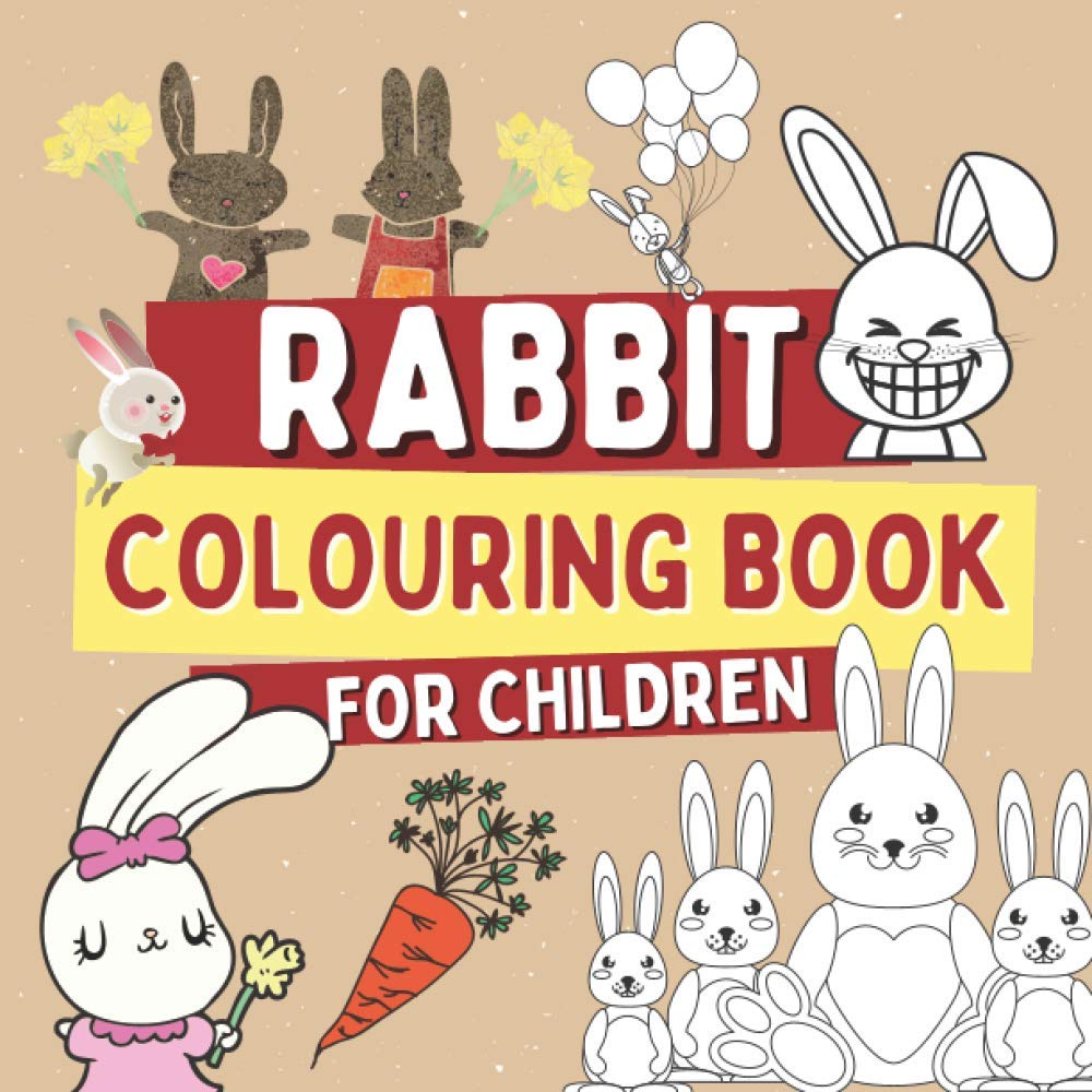 Rabbit Colouring Book For Children Bunny Coloring Pages For Kids Farm Life Books Barrys Oscar 9798557740142 Amazon Com Books