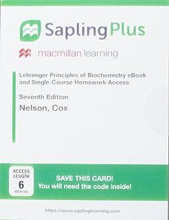 Amazon saplingplus for lehninger principles of biochemistry saplingplus for lehninger principles of biochemistry six month access fandeluxe Images