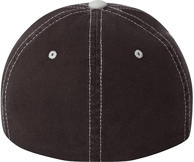 17a5283f0 Flexfit - Contrast Color Stitched Cap - 6386 - S/M - Brown/Stone:  Amazon.in: Clothing & Accessories