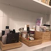 Amazon.com: IKEA DRAGAN bambú Cajas W/Tapas – 2 PC Set: Home ...