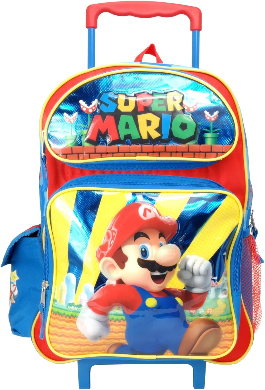 Super Mario 16 Large Rolling Backpack