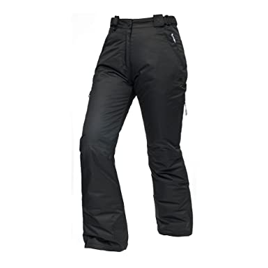 bcd27a658f Trespass Womens Ladies Lohan Waterproof Ski Pants Trousers (XXXL) (Black)