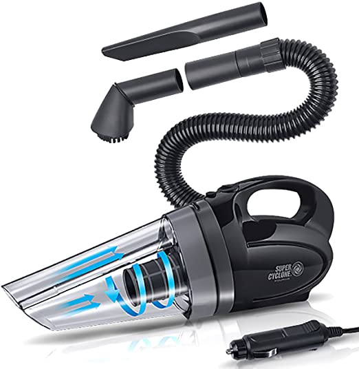 Hand Held Corded Vacuum Cleaner 4000Pa 120W Car Vehicle Set Home Portable