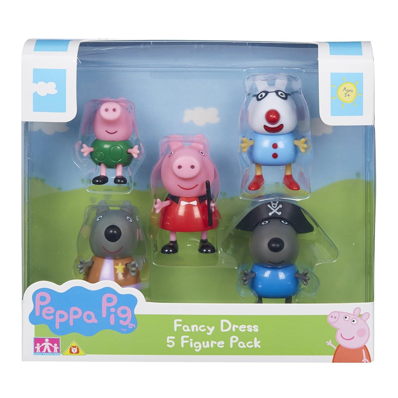 Peppa Pig Lot de 5 Figurines 06667. Character Options