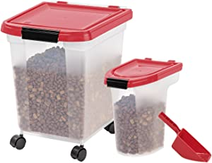 IRIS Airtight Food Storage Combo with Scoops