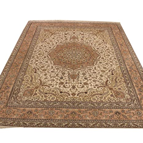 Amazon.com: Camel Carpet 9x12 Vintage Handwoven Persian ...