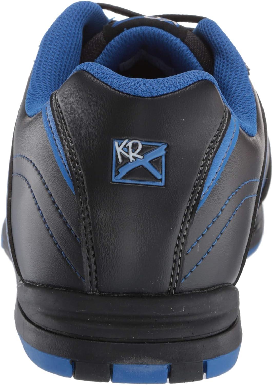 KR Strikeforce Mens Flyer Black//Mag Blue Wide Width