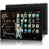 Tablet 10 Inch HD, Dual SIM/WiFi, Android 9.0 Pie Tablet, 32GB ROM/128GB Expand, Quad-Core Processor, 6000mAh Battery, Dual C
