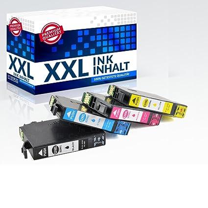 4 x Cartuchos de impresora 2018 inbusco para Epson PK 29 XL ...