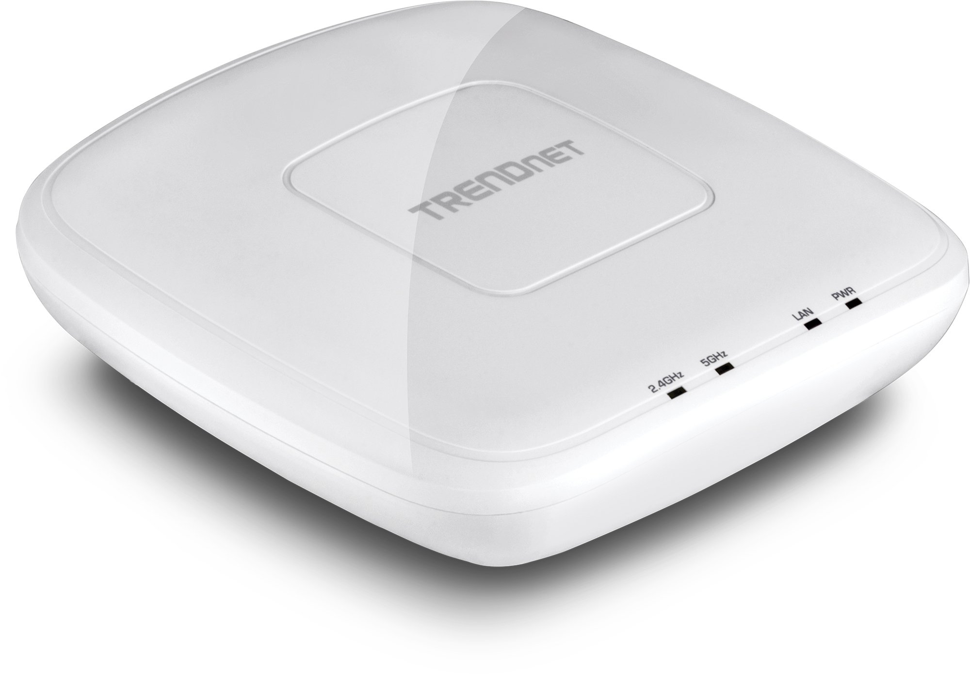 TRENDnet AC1750 Dual Band PoE Access Point, 1300Mbps WiFi AC+450 Mbps WiFi N, WDS Bridge, WDS Station, Repeater Modes, Band Steering, WiFi Traffic Shaping, Up to 8 SSIDs-16 Total, IPv6, TEW-825DAP by TRENDnet (Image #1)
