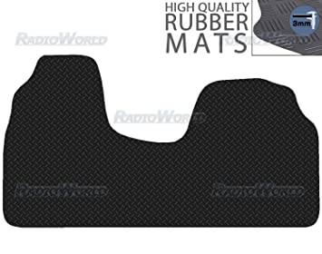 Peugeot Expert  2007-on Fully Tailored Deluxe Car Mats in Black