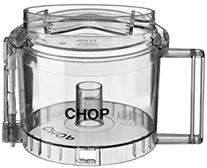 Waring Commercial WCG505TX Pro Prep Commercial Chopper Grinder Chopping Bowl and Cover, 3/4-Quart