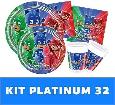 Kit TIPILIANO para NIÑOS | Birthday Party Kit PJ Masks ...