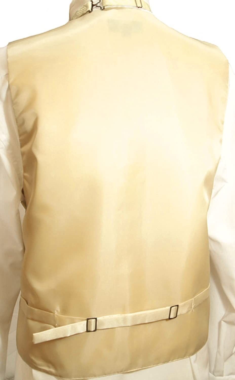 47f82e7821c143 Paul Malone Hochzeitsmode Hochzeitswesten Set 5tlg Champagner Paisley +  Casa Moda Hochzeitshemd wei ß V26+HL8