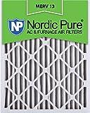 Nordic Pure 14x25x2M13-3 14x25x2 MERV 13 Pleated AC Furnace Air Filter, Box of 3, 2-Inch
