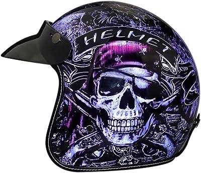 casque moto tête de mort 2