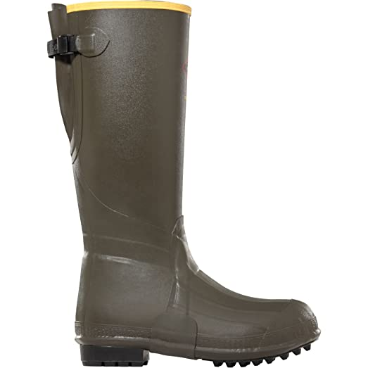 """Burly Air Grip 800 18"""" height Forest Green (266075) Waterproof  Insulated Modern Comfortable Hunting Combat Boot Best For Mud Snow"""