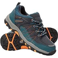 Mountain Warehouse Zapatillas Stampede para niños - Zapatillas de Correr con Suela de Gran Agarre, Zapatillas…