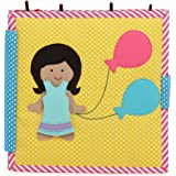 Balloon Girl - 8 Page Mixed Theme Quiet Book/ Busy Book/ Felt Book/ Fabric Book