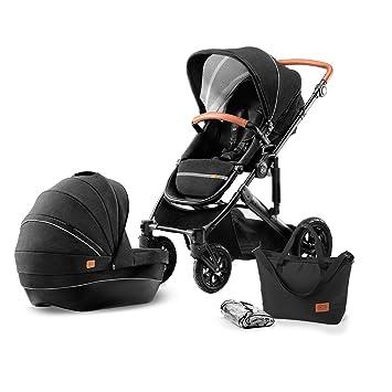 Babyschale Megaset TOMAS Kinderwagen 3in1 Viel Zubehör Schwenkräder
