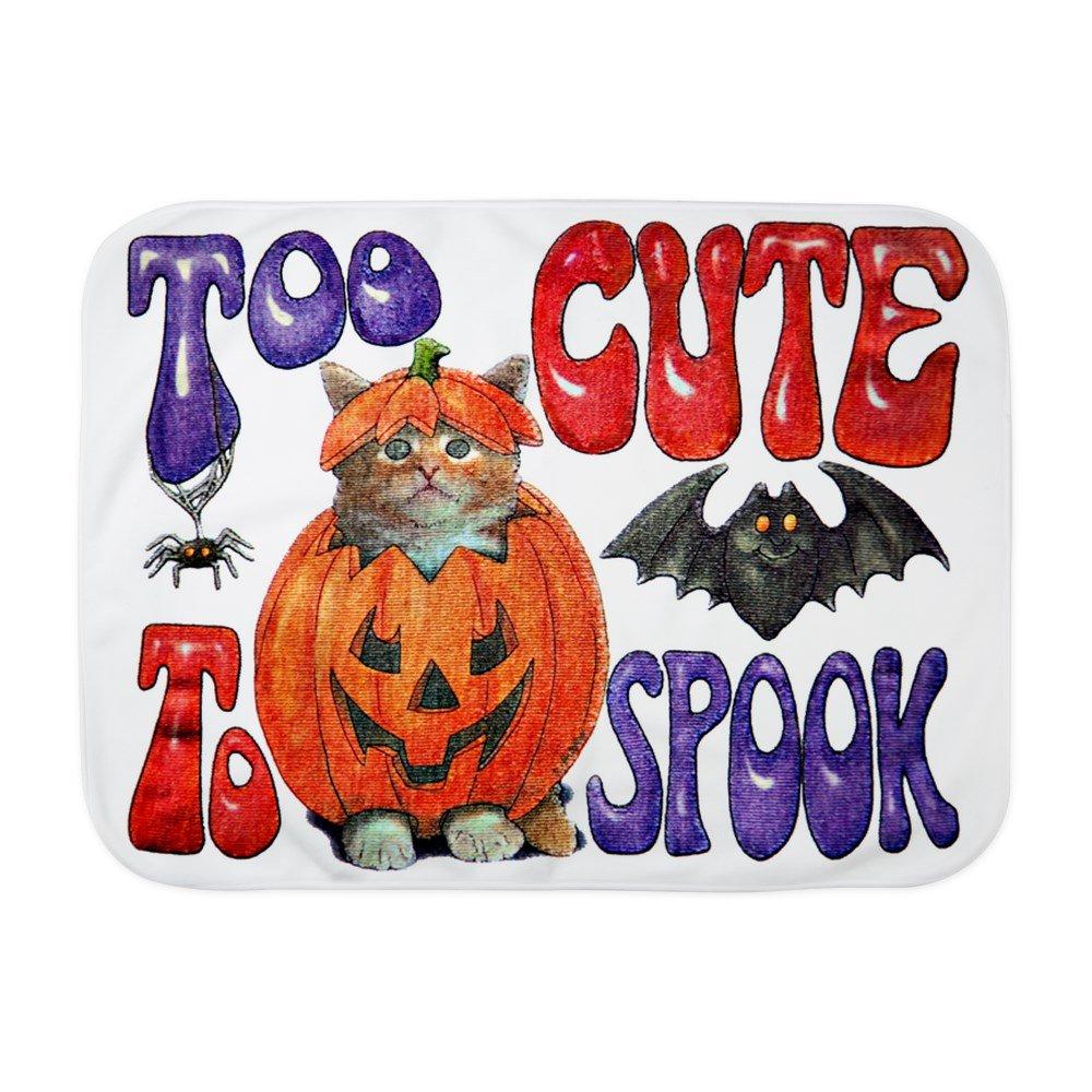 Royal Lion Baby Blanket White Halloween Pumpkin Kitten Spider