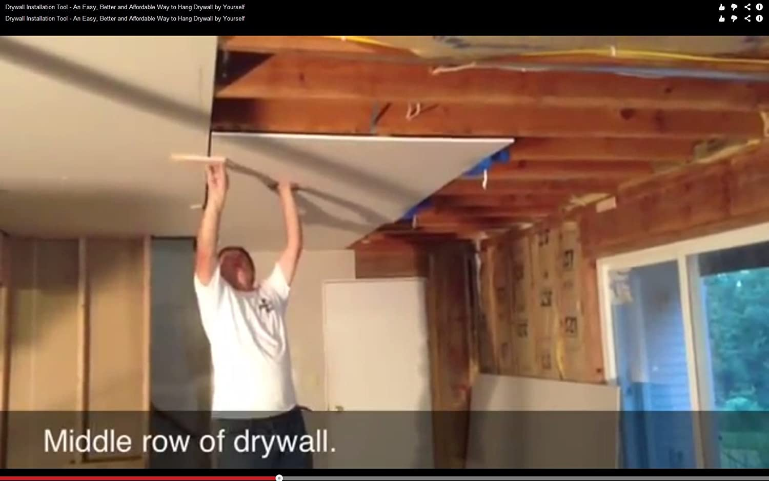 How to hang drywall on walls - How To Hang Drywall On Walls 44