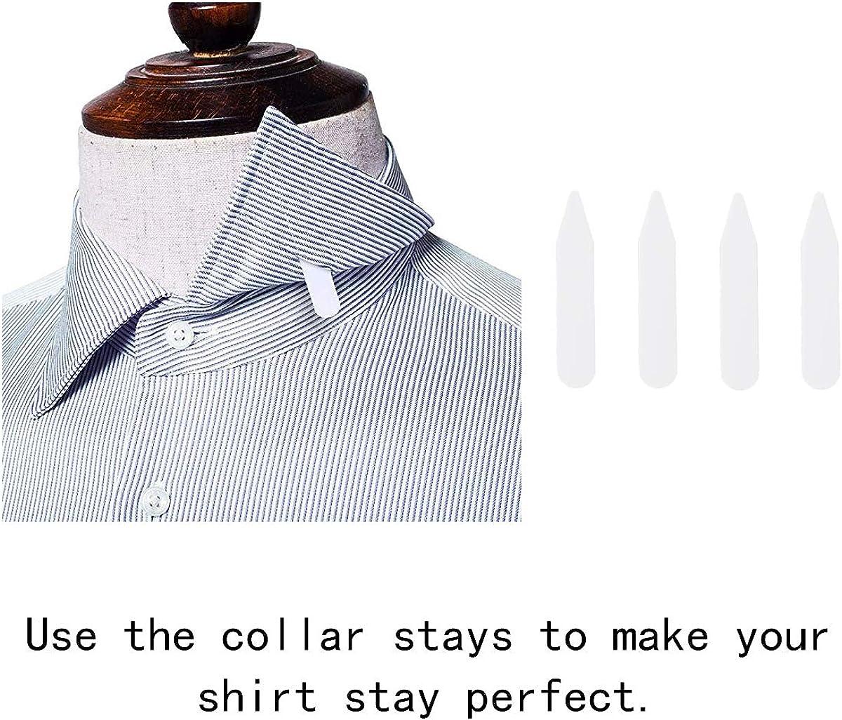 Hosentr/äger,Elastisch Hemd-Halter mit Rutschfest Sperrung Schellen Adjustable Shirt Stays Herren Hemdhalter 1 Paar