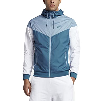 542cda04bd Nike Windrunner Jacket Industrial Blue Work Blue White M Blue ...