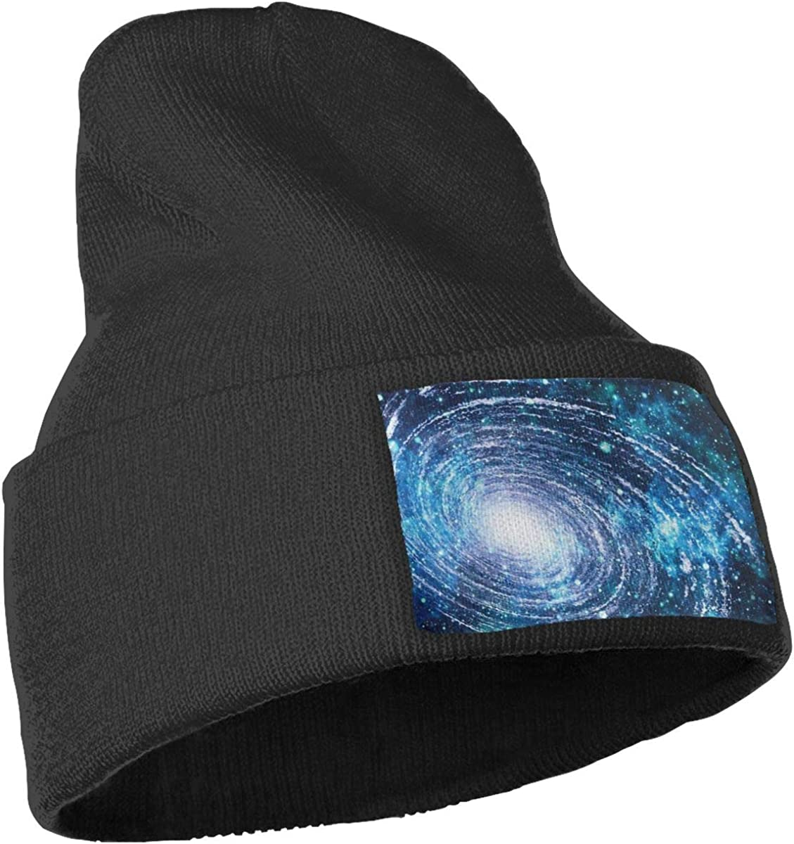 Unisex 100/% Acrylic Knit Hat Cap Galaxies in The Universe Thick Skull Cap