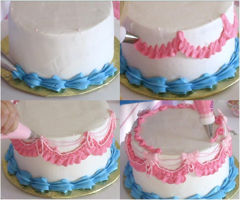 23 Cake Icing Practice Drawing Board Template Paste Fondant Decor DIY  99M