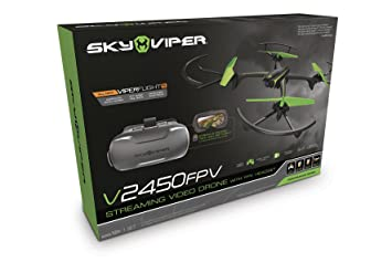 Goliath 90294 Drone Racing Fpv Sky Viper with Headset