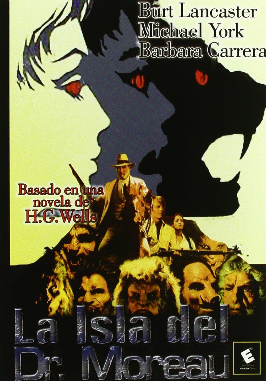 La Isla Del Dr. Moreau [DVD]: Amazon.es: Burt Lancaster, Barbara Carrera, Nigel Davenport, Richard Basehart, Michael York, Varios, Don Taylor: Cine y Series ...