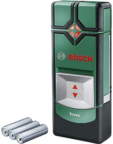 Bosch Truvo - Detector digital (3 pilas AAA, profundidad de detección máx.: