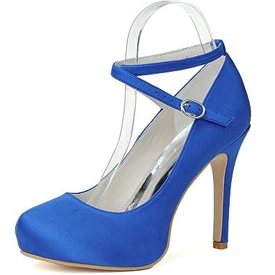 Chaussures Des De 09 Orteil Elobaby Fermé Femmes 6915 Toe Mariage txhCrdQBs