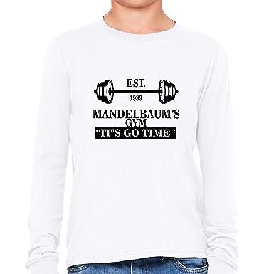 Hollywood Thread Hilarious Mandelbaum s Gym - It s Go Time Boy s Long Sleeve  T-Shirt 7425811ed