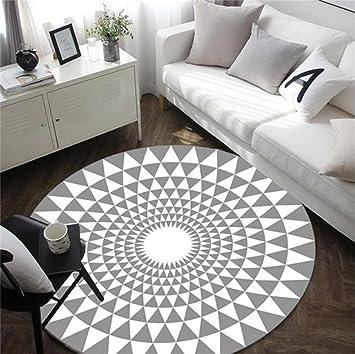 Amazon.de: ZHZ-DT Carpet Teppich runde Teppiche Wohnzimmer Sofa ...