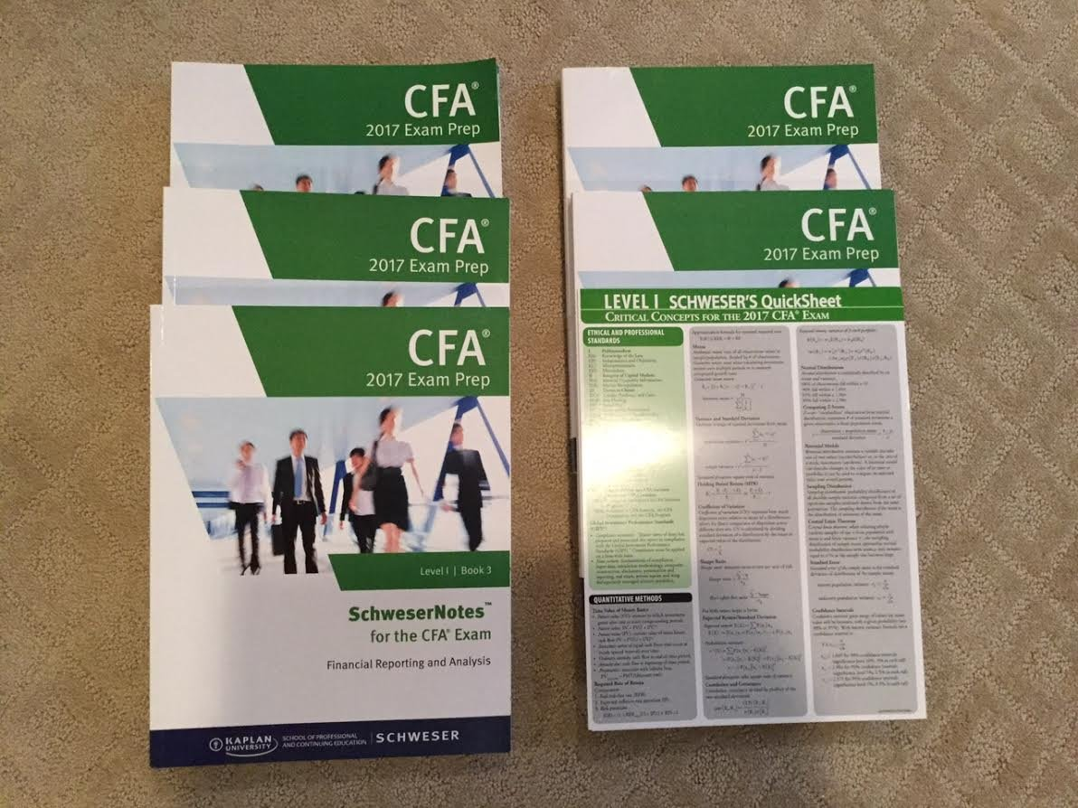 Cfa level 1 schweser notes 2018 pdf | June 2019 CFA Level 1: don't