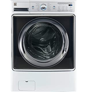 kenmore front load washer. Kenmore Smart 41982 5.2 Cu. Ft. Front Load Washer With Accela Wash Technology In
