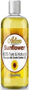 Artizen Sunflower Oil - (100% Pure & Cold Pressed) - 16oz Bottle