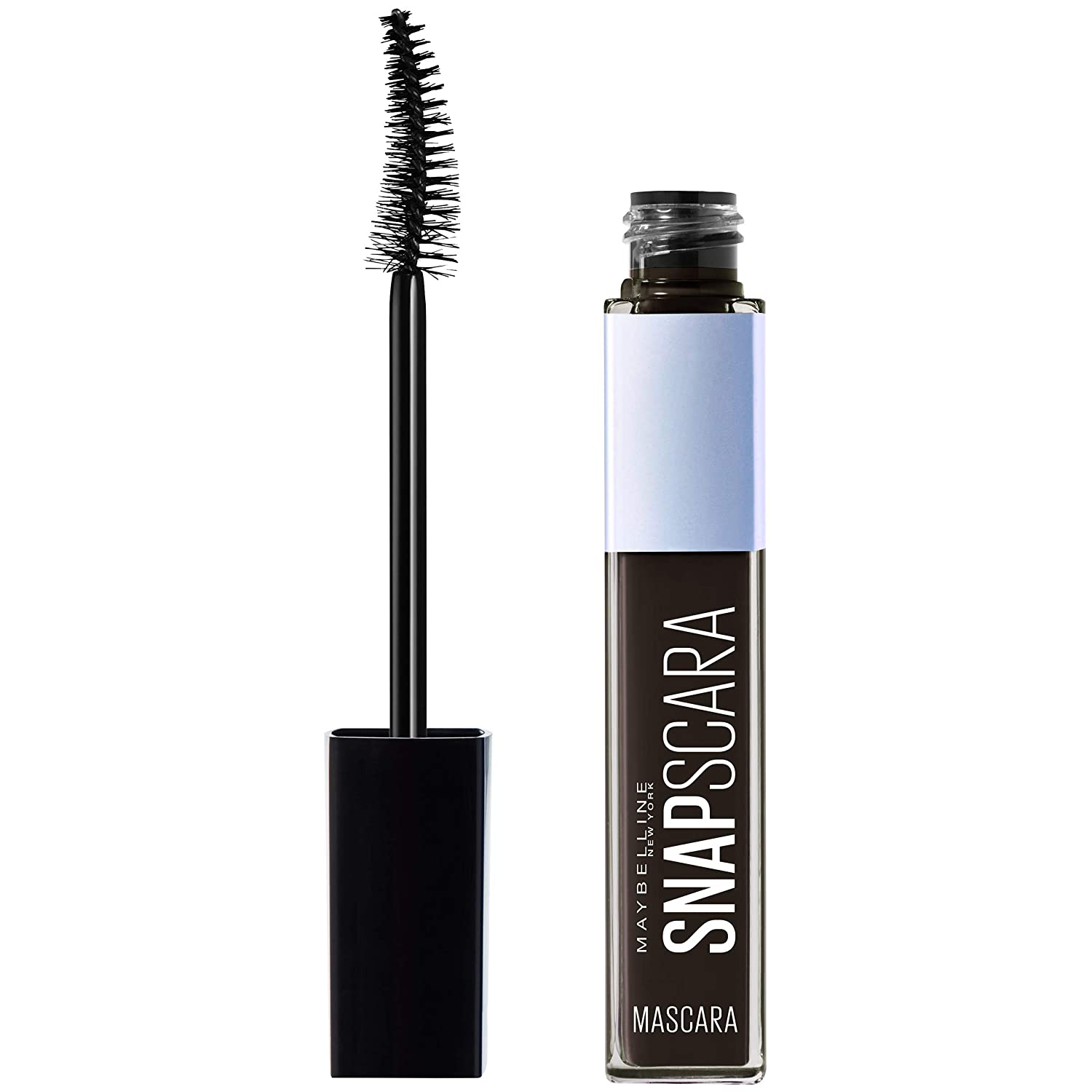 Maybelline New York Snapscara Washable Mascara Makeup, Bold Brown, 0.34 Fluid Ounce, Pack of 1