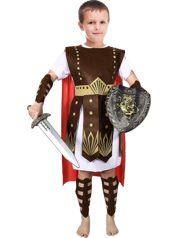 Amazon.com Roman Warrior Costume Boys and Girls Warrior