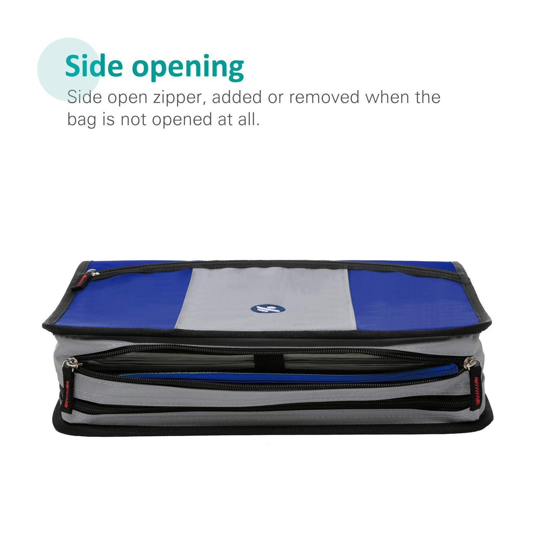 2 Inch 3 Ring Binder 6-Pocket Expanding File Details about  /Five Star Zipper Binder Durable,