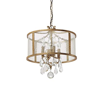 Marvelous Capital Lighting 9484AG CR Blakely 4 Light Foyer Pendant, Antique Gold  Finish With Pictures