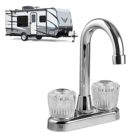 RV Kitchen Galley or Bar Faucet 8-in. Tall Spout Non ... on mobile home locks, mobile home faucet replacement, mobile home shower bases, mobile home water softeners, mobile home kitchen design, mobile home kitchen sinks, mobile home kitchen paint colors, mobile home fittings, mobile home garden faucets, mobile home kitchen cabinets, mobile home mirrors, mobile home drains, mobile home lamps, mobile home kitchen pipes, mobile home kitchen repair, mobile home kitchen furniture, mobile home lavatory faucets, mobile home kitchen islands, mobile home kitchen bath, mobile home kitchen appliances,